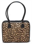 Mango Tango leopard print laptop bag