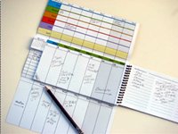 Weekdate planner
