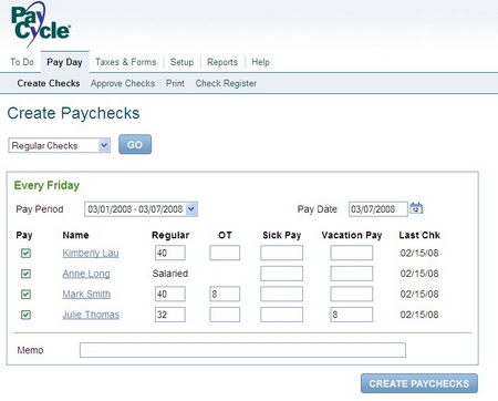 img paycycle screen