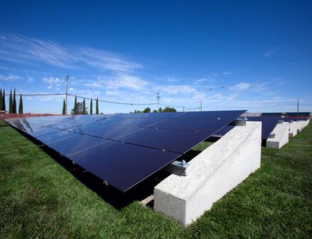 OptiSolar solar panels.