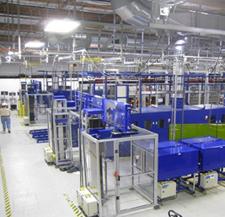OptiSolar's factory.