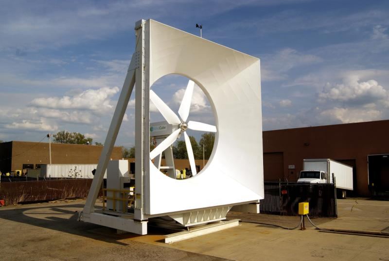 Startup Green Energy Tech Installs First Small-Wind Concentrators