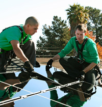 SolarCity panels, image courtesy of SolarCity