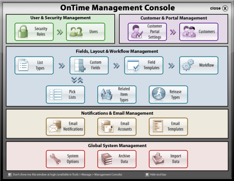 OnTime Console