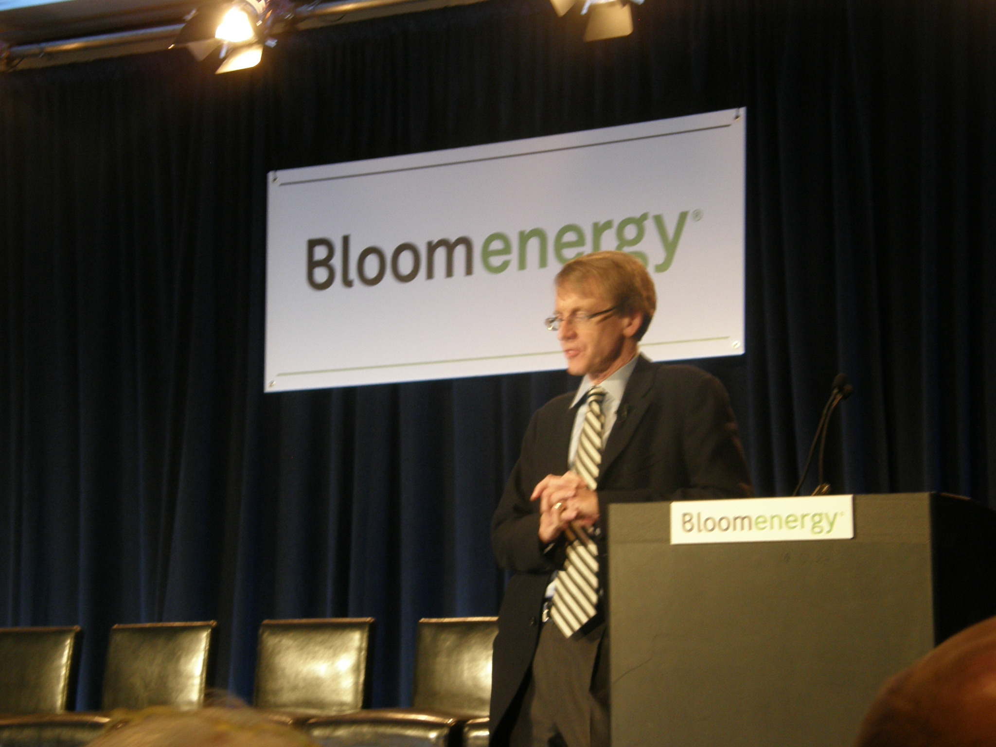 LIVE: The Bloom Energy Unveiling Event!