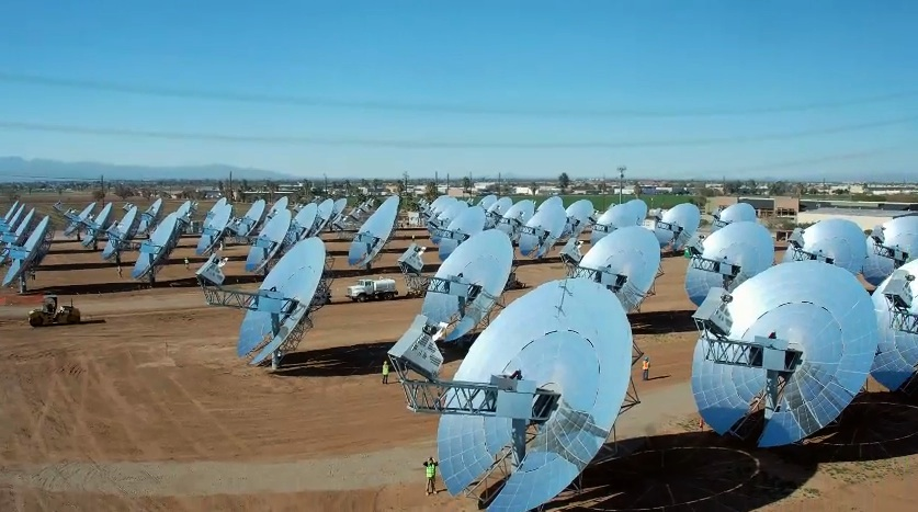 Solar Patent King Boeing Teams Up With Stirling Energy Systems