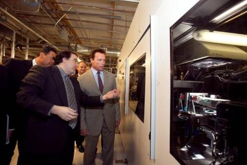 Politics of Greentech: Nanosolar, Schwarzenegger & Tax Breaks