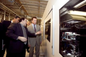 Politics of Greentech: Nanosolar, Schwarzenegger & Tax Breaks