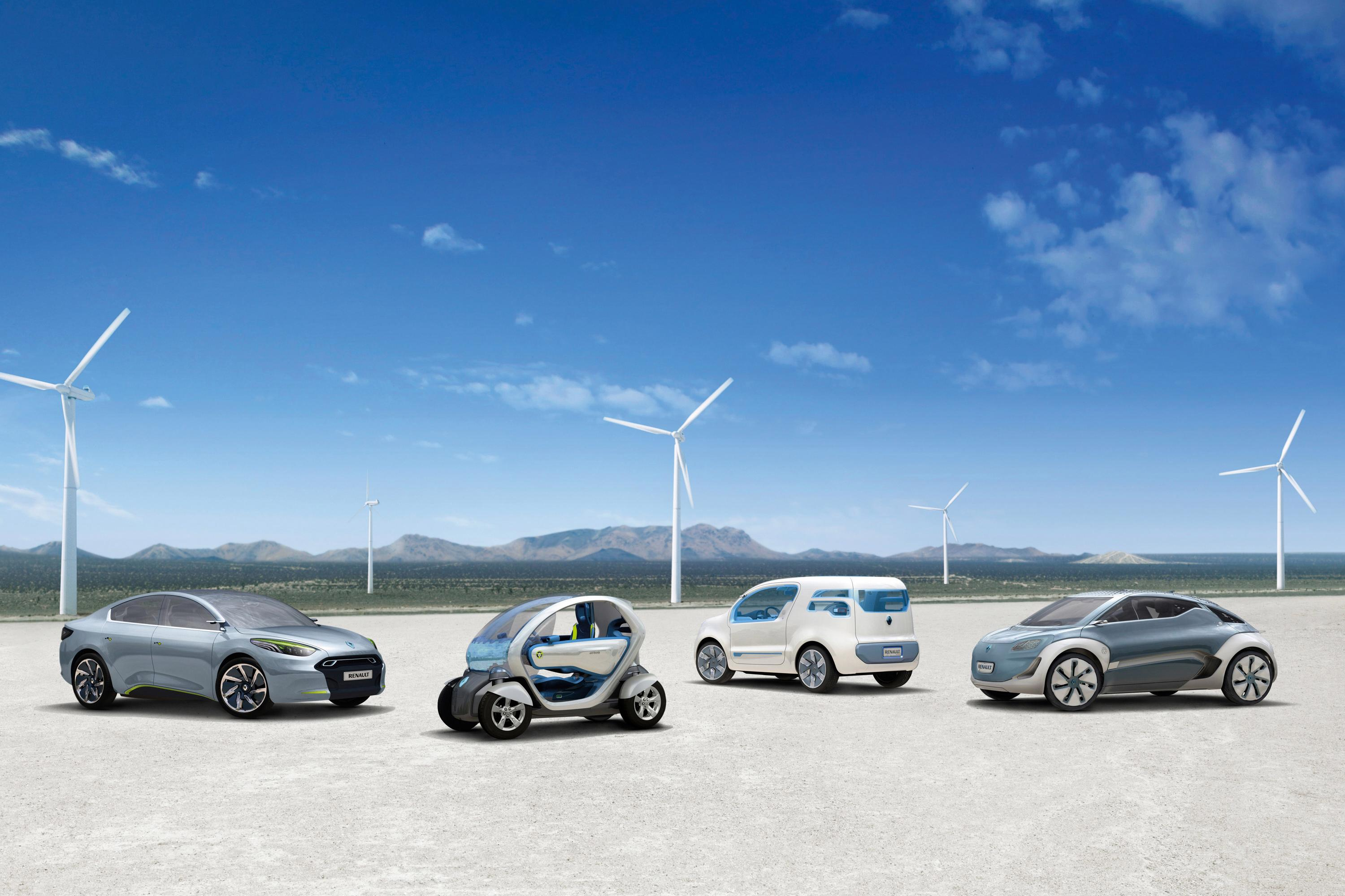 Renault electric vehicle concepts