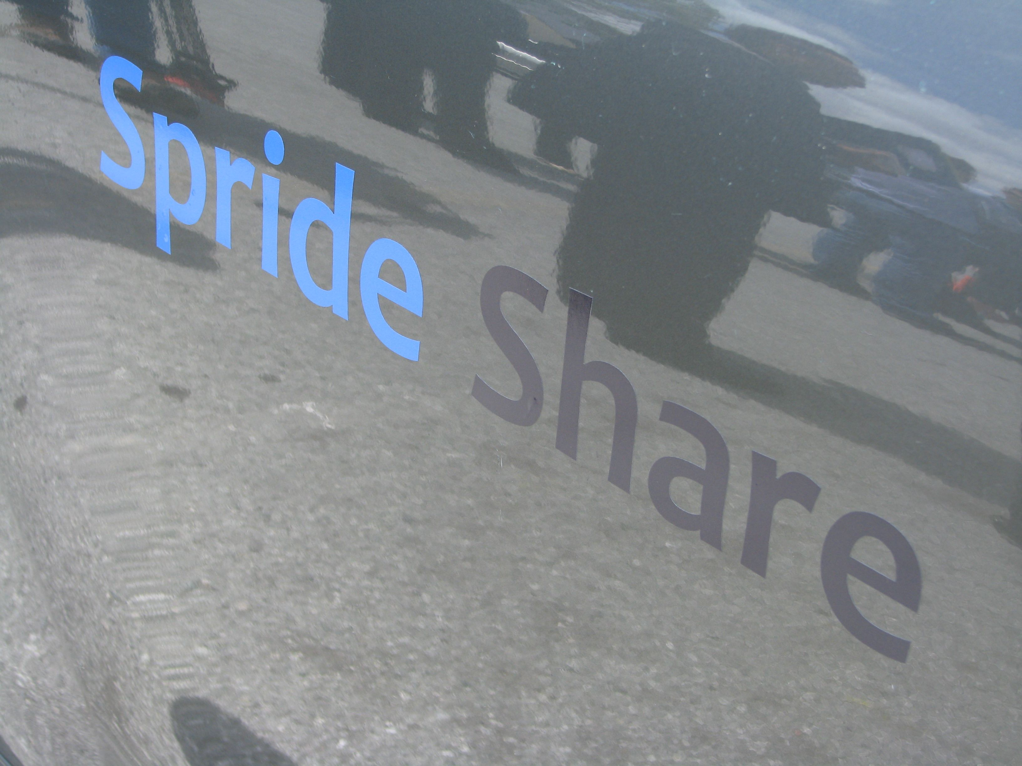 Spride Share: Using the Web for Distributed Car Sharing