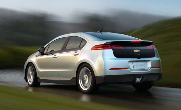Chevy Volt Eye Candy: GM's Great Green Hope Strikes a Pose (or 9)