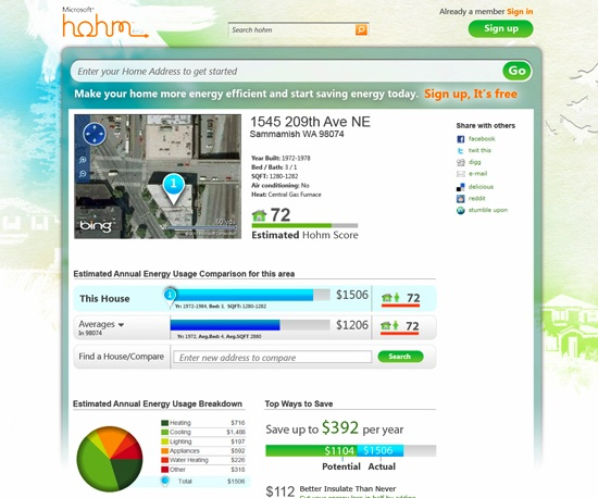Microsoft Looks to Peer Pressure for Energy Tool Hohm