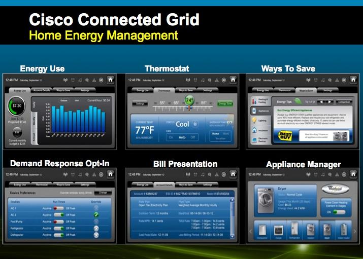 Cisco Launches Smart Grid Assault, Home Energy Gadget
