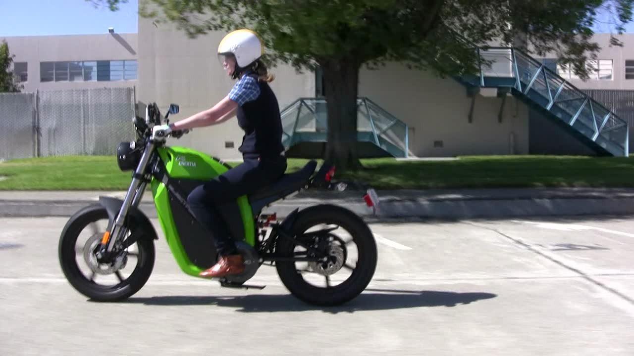 Green Overdrive: Brammo Motorcycle Thumbnail