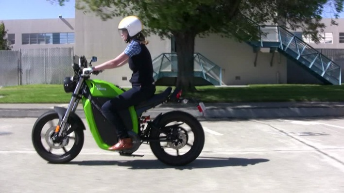 Green Overdrive: Brammo Motorcycle Thumbnail