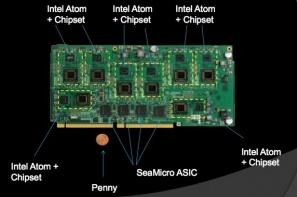 SeaMicro Unveils Low Power Server