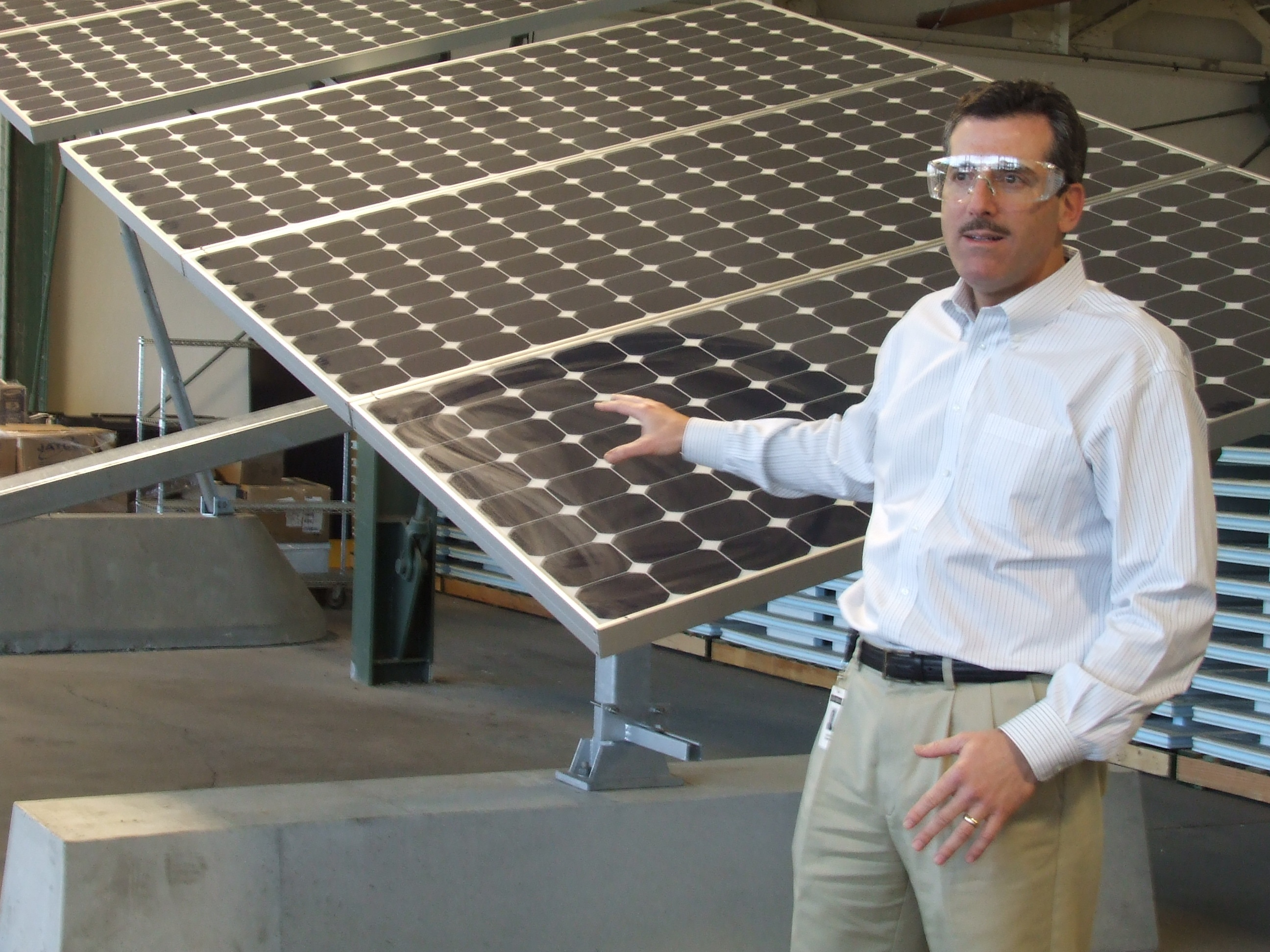 PHOTOS: SunPower Factory Tour, 25 Years to 1 GW
