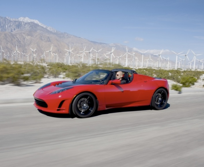 Here Comes the Fluff: Tesla's Roadster 2.5!