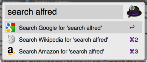 Alfred - Search