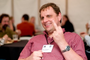 Michael Arrington by Joi Ito via Flickr, Creative Commons