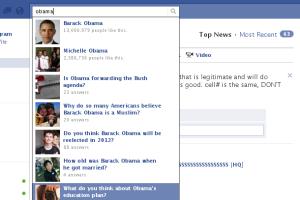 Facebook social search