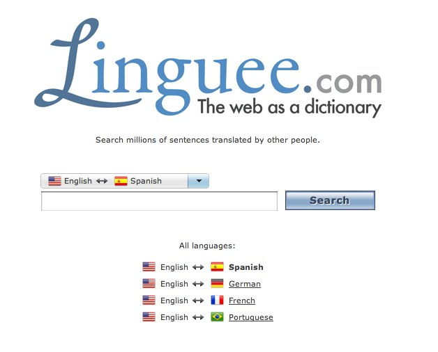 Linguee – The web as a dictionary – Spanish_English