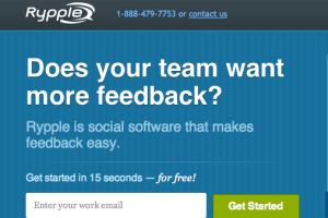Rypple screenshot