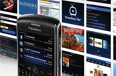 comment telecharger blackberry app world