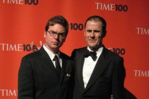 Twitter's Biz Stone and Evan Williams