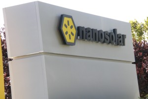 Nanosolar Sign