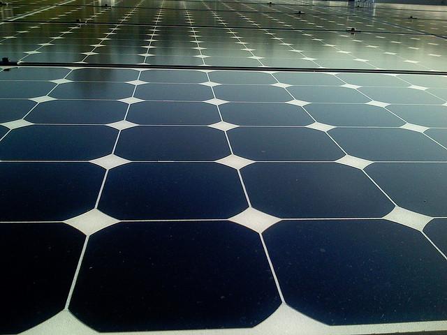Solar panels in LA