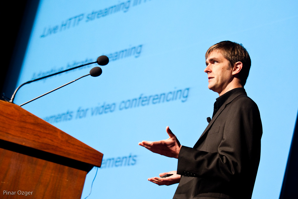 David Schleef, CEO Entropy Wave, at NTVL 2010