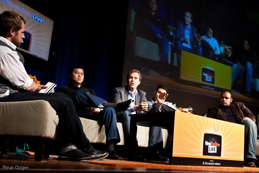 Live streaming panel at NTVL 2010