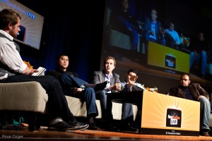 Live streaming panel at NTVL 2010