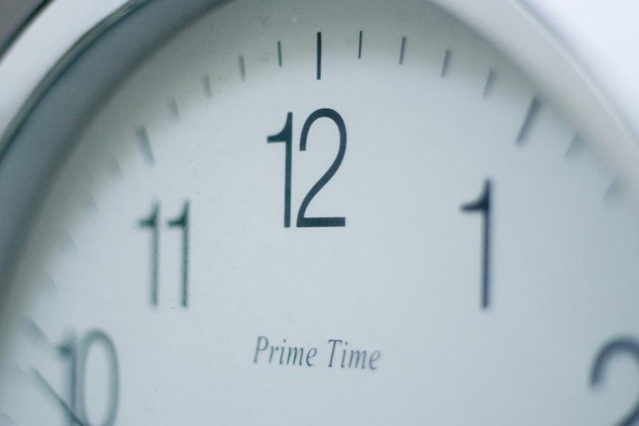 clock prime time