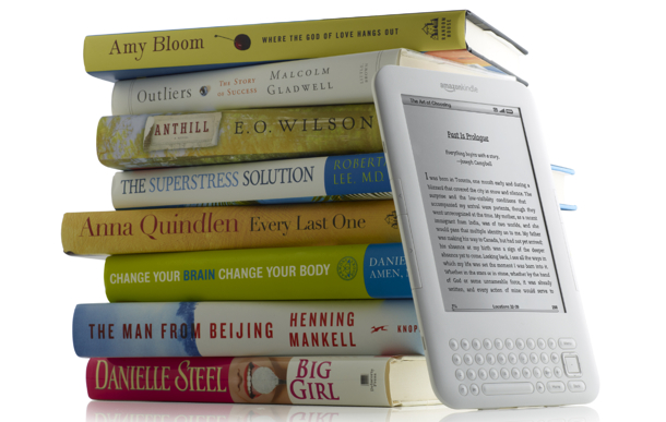 Kindle with Books featured