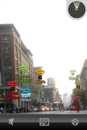 Lookator AR screen