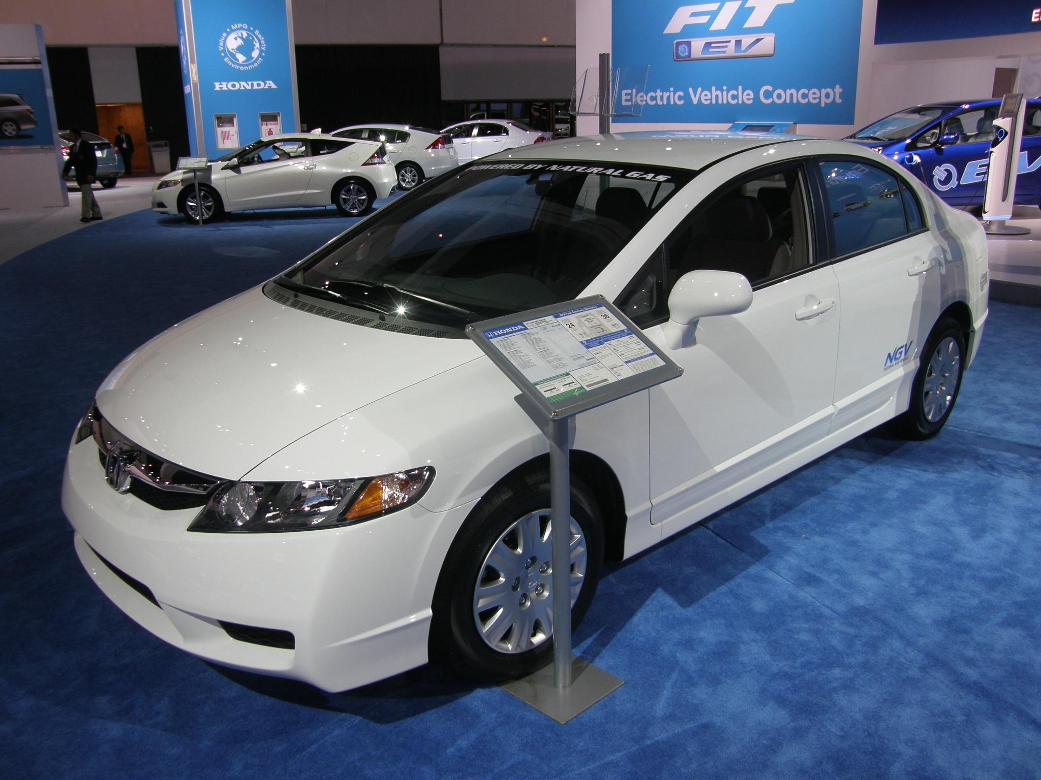 Honda Natural Gas Car