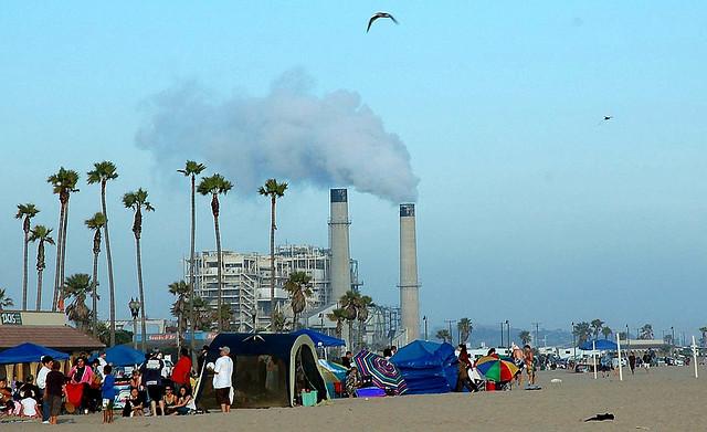 power plant Huntington Beach