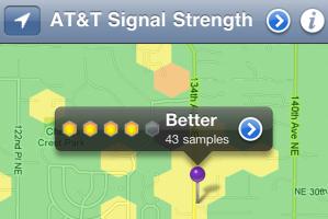 RootMetrics iPhone App.Screen Shot.Nov 2010
