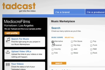 tadcast screenshot