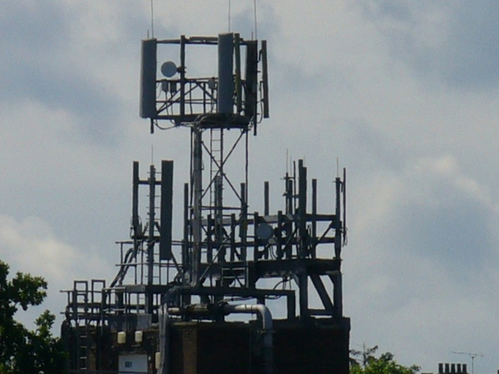 A telco base station.