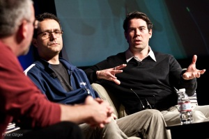 Dave Hersh and Bradley Horowitz at Net:Work 2010