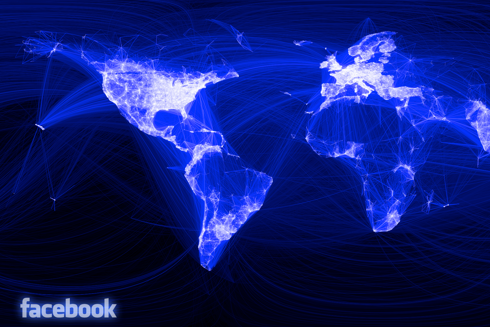 Facebook Draws A Map Of The Connected World Gigaom