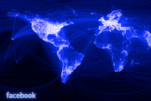 Facebook connection map 3x2