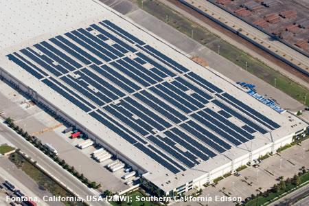 First Solar Fontana project