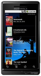 Kindle for Android Gets Periodicals, In-App Store