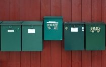 mailboxed