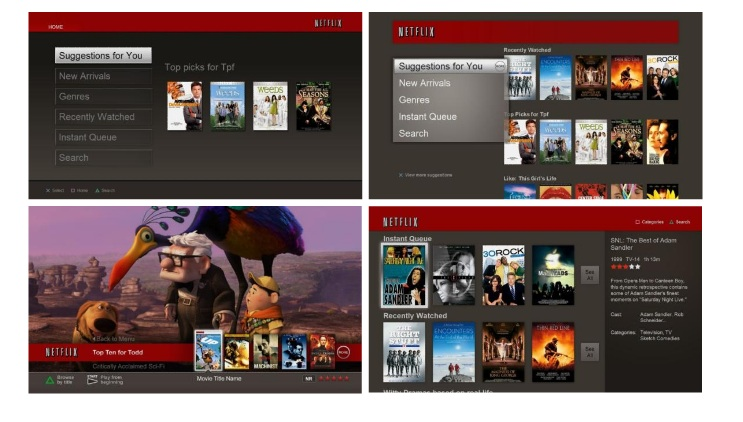 Netflix S 3 Secrets To Ui Innovation Gigaom