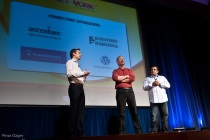 Simon Mackie, Mathew Ingram, and Om Malik at Net:Work 2010